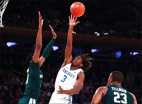 Observations on Tyrese Maxey, Cassius Winston, and Ashton Hagans in the 2019 Champions Classic