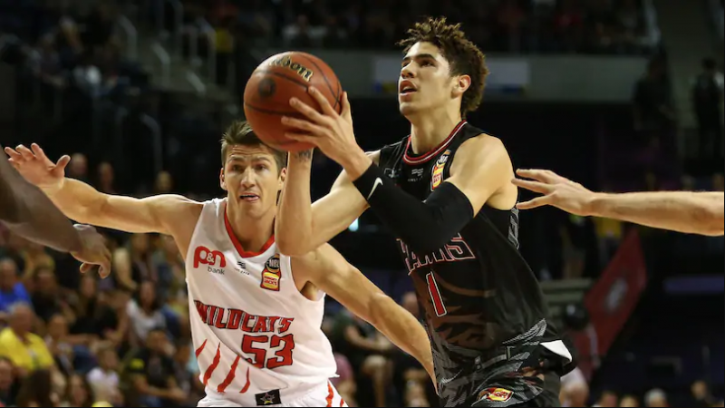 Observations on LaMelo Ball in the Illawarra-Perth Game