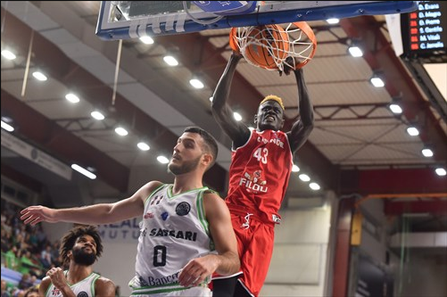 Evaluating Amar Sylla in a Basketball Champions League Game