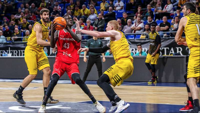 Analyzing Amar Sylla and Mario Nakic in a BCL Basketball Game
