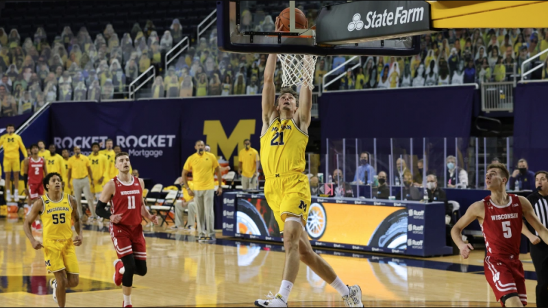 Evaluating Franz Wagner, Isaiah Livers, and Hunter Dickinson in the Michigan-Wisconsin Game