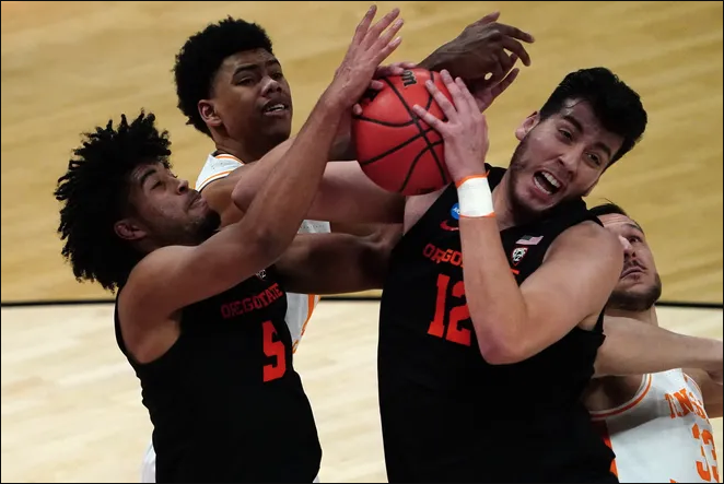 Thoughts on the Oregon State-Tennessee Game in the 2021 NCAA Tournament