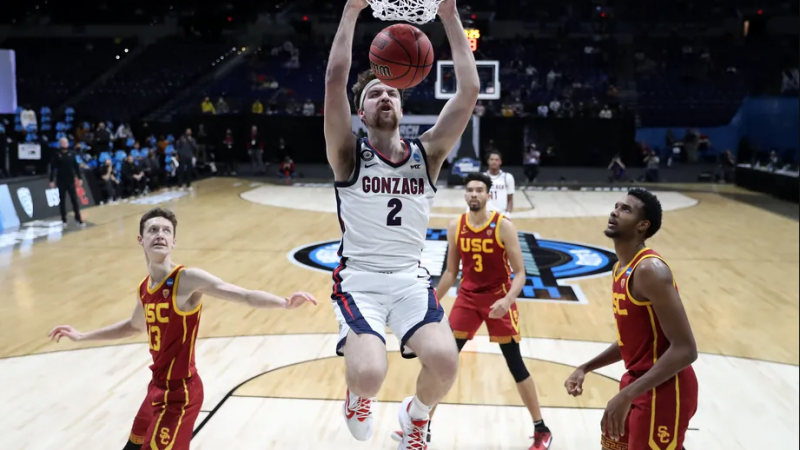 Evaluating Gonzaga and USC in the Elite Eight of the 2021 NCAA Tournament